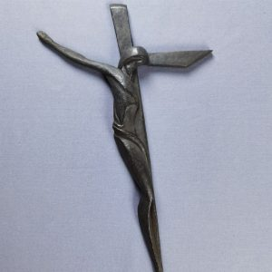 Cruz de Dalí Bronce